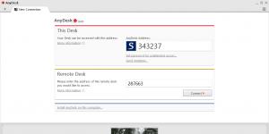 AnyDesk Ekran Görüntüsü
