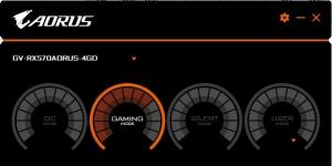 Aorus Graphics Engine Ekran Görüntüsü