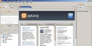 Aptana Studio Community Edition Ekran Görüntüsü