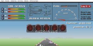 Araba Yarışları-Rally-Formula-Tehlikeli Yarış Ekran Görüntüsü