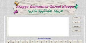 Arap�a Osmanl�ca Klavye Ekran G�r�nt�s�