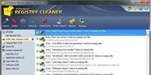 Ashampoo Registry Cleaner Ekran Görüntüsü