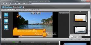 Ashampoo Slideshow Studio HD 2 Ekran Görüntüsü