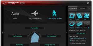 ASUS Fan Xpert Ekran Görüntüsü