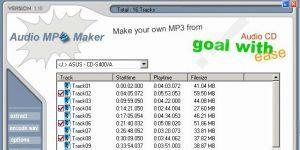 Audio MP3 Maker Ekran Görüntüsü