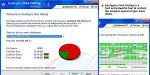 Auslogics Disk Defrag Ekran Görüntüsü