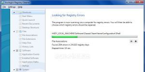 Auslogics Registry Cleaner Ekran Görüntüsü