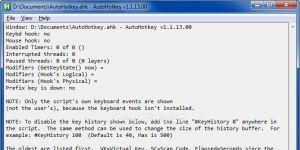 AutoHotkey Ekran Görüntüsü