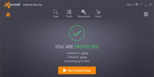 Avast Internet Security Ekran Görüntüsü