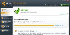Avast Pro Antivirus Ekran Görüntüsü
