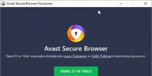 Avast Secure Browser Ekran Görüntüsü