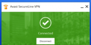 Avast SecureLine VPN Ekran Görüntüsü