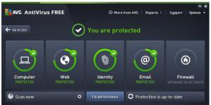 AVG AntiVirus FREE Ekran Görüntüsü