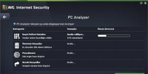 AVG Internet Security Ekran Görüntüsü