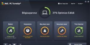 AVG Performance PC Tuneup Ekran Görüntüsü