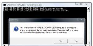 AVG Remover Ekran Görüntüsü