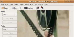Avidemux Ekran Görüntüsü