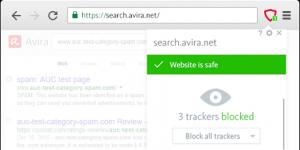 Avira Browser Safety Chrome Ekran Görüntüsü