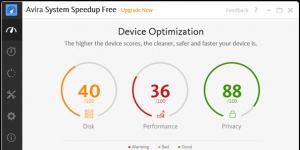 Avira System Speedup Ekran Görüntüsü