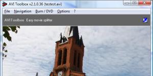 AVIToolbox Ekran Görüntüsü