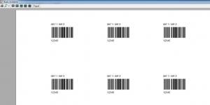 Barkod Yazdırma ve Hazırlama Yazılımı Ekran Görüntüsü