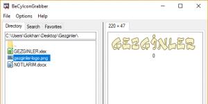 BeCyIconGrabber Ekran Görüntüsü