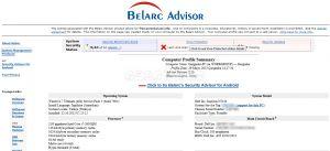 Belarc Advisor  Ekran Görüntüsü