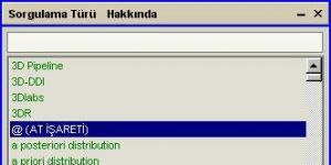 Bilgisayar Terimleri Sözlüğü Ekran Görüntüsü