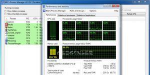 Bill2's Process Manager Ekran Görüntüsü
