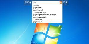 Bing Desktop Ekran G�r�nt�s�