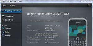 BlackBerry Masaüstü Yazılımı Ekran Görüntüsü