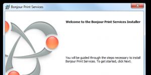 Bonjour Print Services for Windows Ekran Görüntüsü