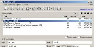 fre:ac - free audio converter Ekran Görüntüsü