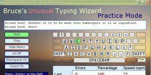 Bruce's Unusual Typing Wizard Ekran Görüntüsü