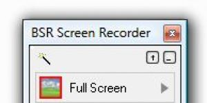 BSR Screen Recorder Ekran Görüntüsü
