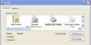 BullZip PDF Printer Ekran Görüntüsü