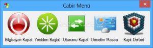 Cabir Menu Ekran Görüntüsü