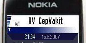 CepVakit Ekran G�r�nt�s�