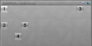 CerezForum Hafıza Oyunu Ekran Görüntüsü