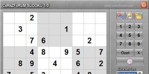 CerezForum Sudoku Ekran G�r�nt�s�