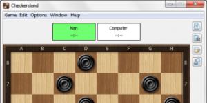 Checkersland - Dama Ekran Görüntüsü