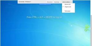Chrome Uzaktan Masaüstü Ekran Görüntüsü