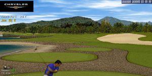 Chrysler World Tour Golf Ekran Görüntüsü
