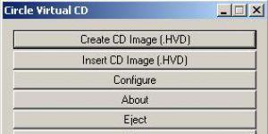 Circle Virtual CD Ekran Görüntüsü