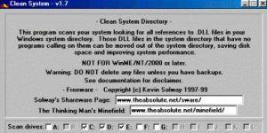 Clean System Directory Ekran Görüntüsü
