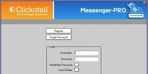 Clickatell Messenger Pro Ekran Görüntüsü