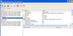 Cobian Backup Ekran Görüntüsü
