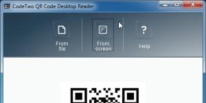 CodeTwo QR Code Desktop Reader Ekran Görüntüsü