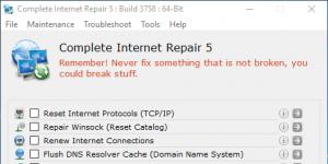 Complete Internet Repair Ekran Görüntüsü