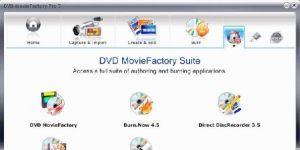 Corel DVD MovieFactory Ekran G�r�nt�s�